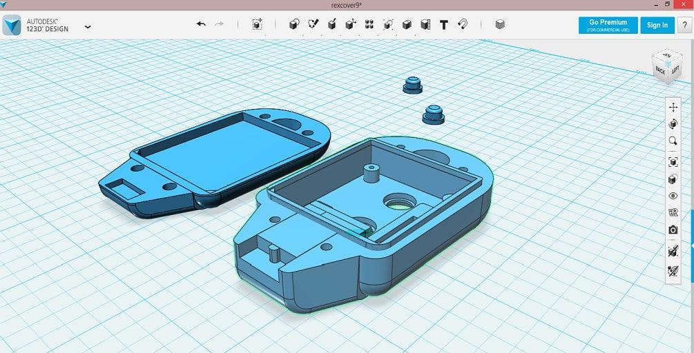 Disegno e modellazione 3d stampa 3d online for Disegno 3d online