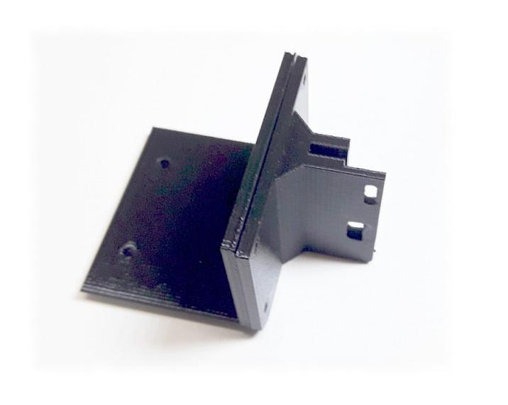 Staffe assemblate per modificare estrusore stampante 3d cr-10
