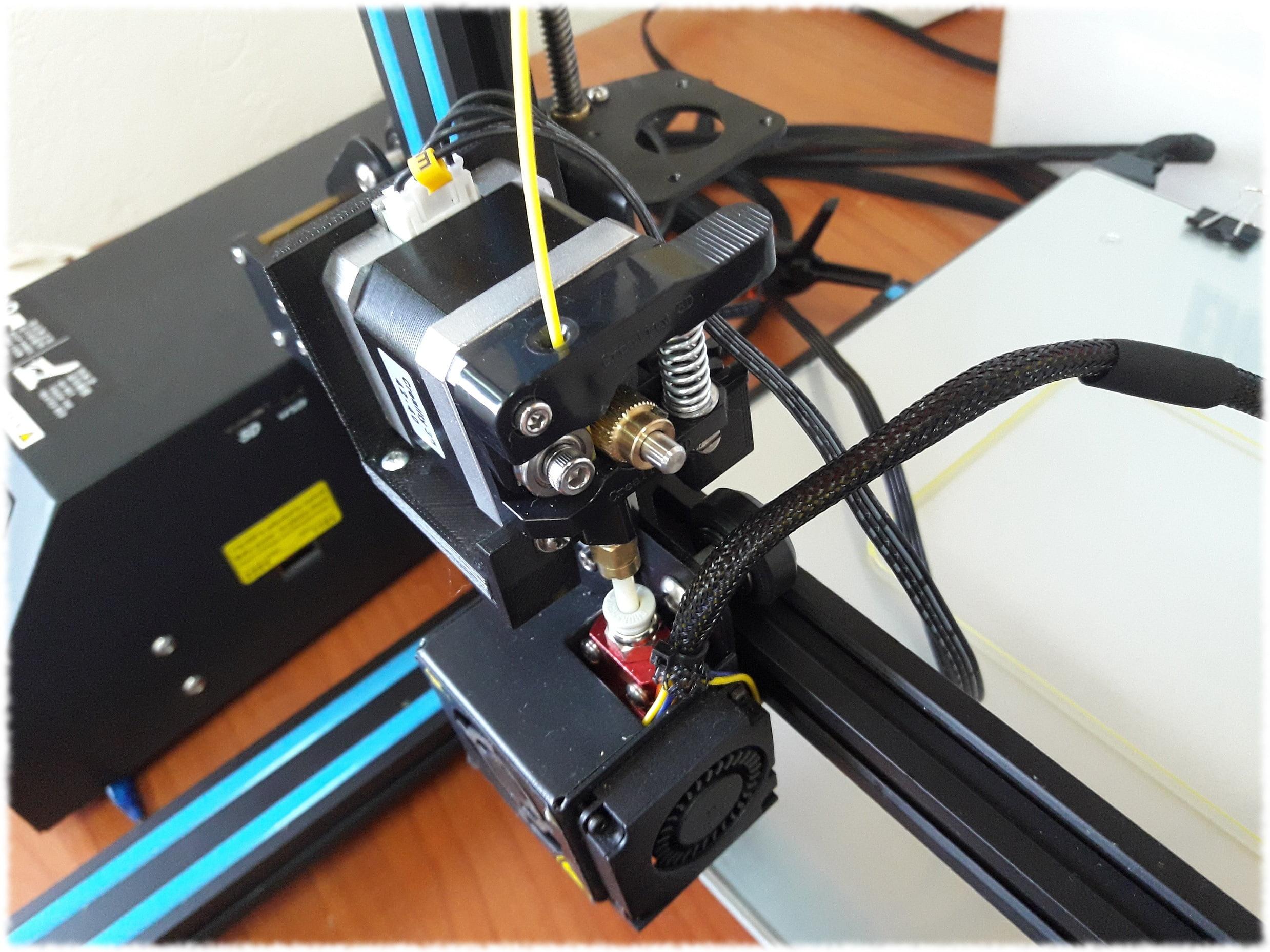 Modding estrusore stampante 3d Creality CR-10